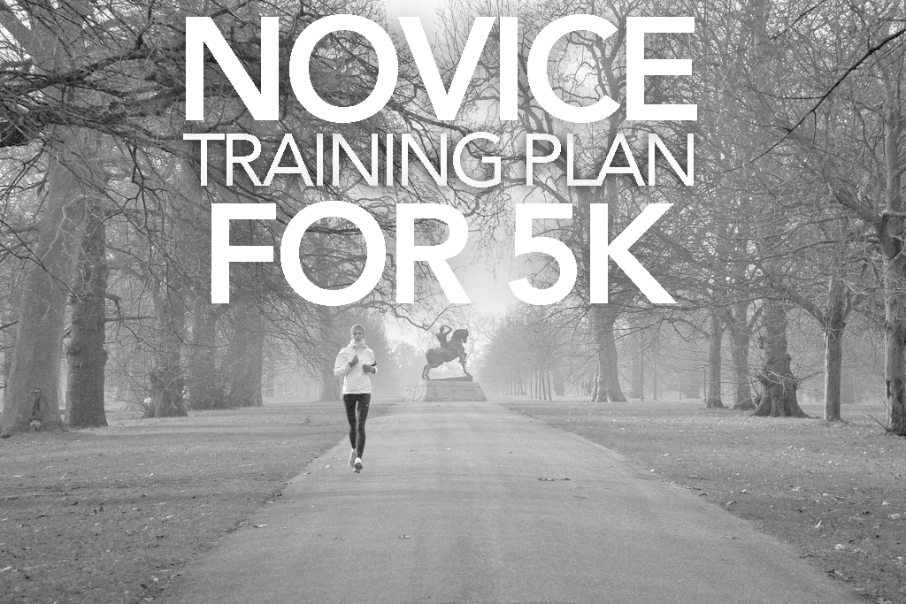 NOVICE TRAINING PLAN FOR 5K
