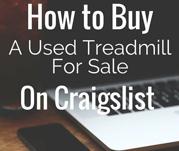 How to Buy a used Treadmill for sale on Craigslist