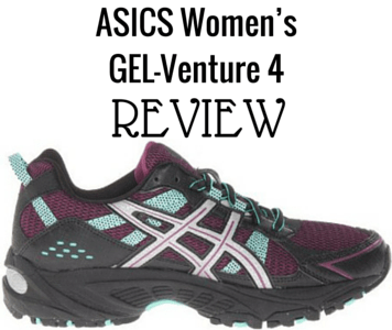 We review the ASICS Women's GEL-Venture 4