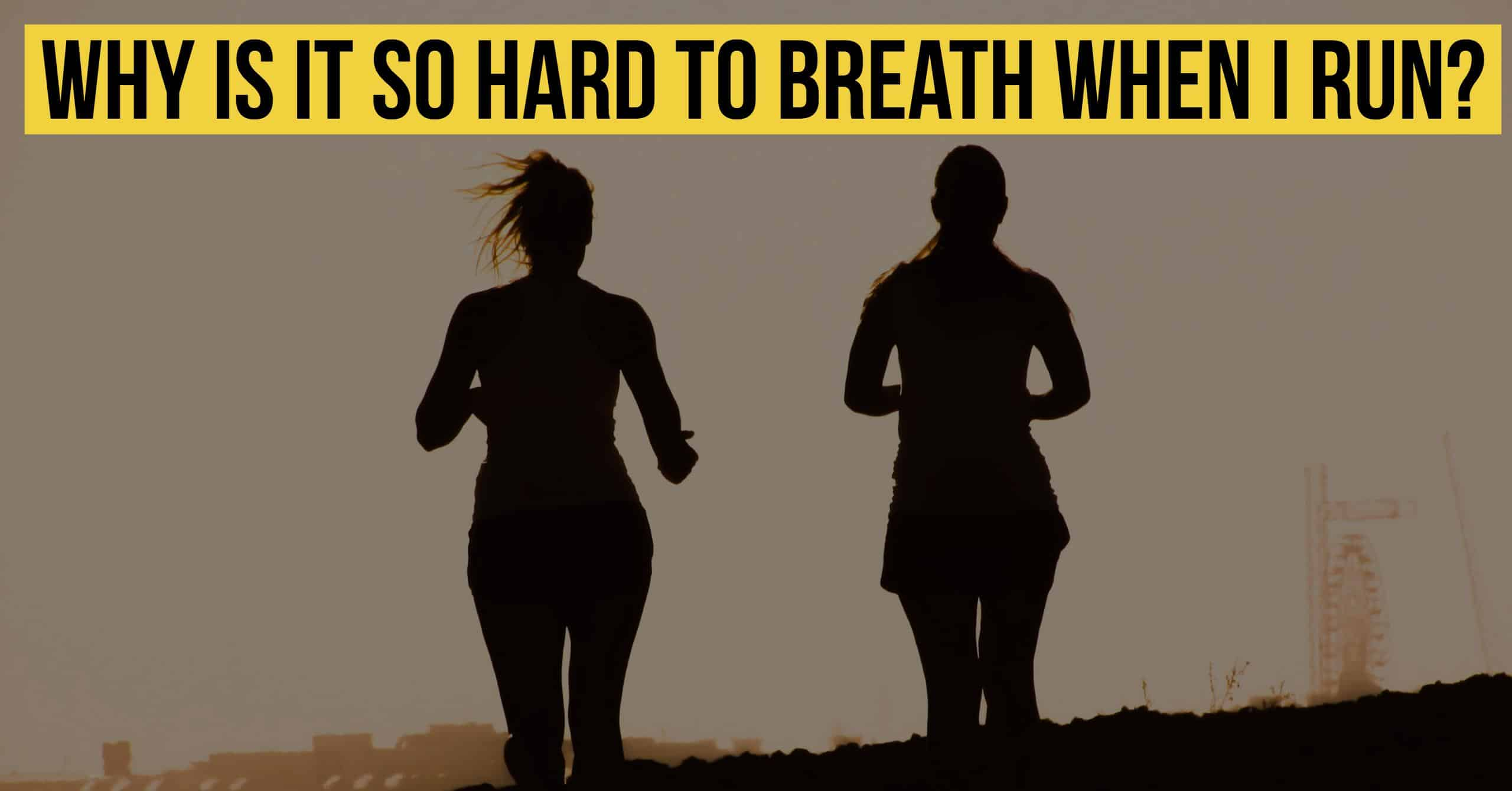 If you can't breath when you run, you are not alone. So why is it so hard to breath when I run? Here are 4 tips for better breathing.