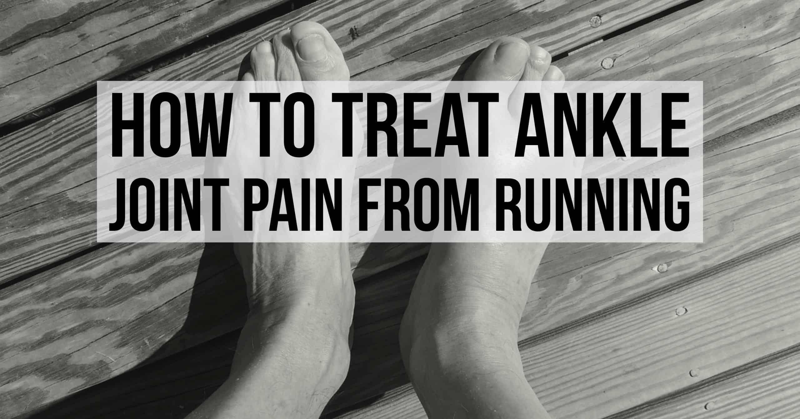 Most of ankle injuries by runners involve Achilles tendinitis or sprains. We break down how to treat ankle joint pain from running at home.