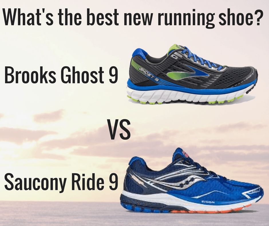 Two of the most popular running shoe brands have recently released the newest versions of their top shoes. So which one is better? Brooks Ghost 9 vs Saucony Ride 9