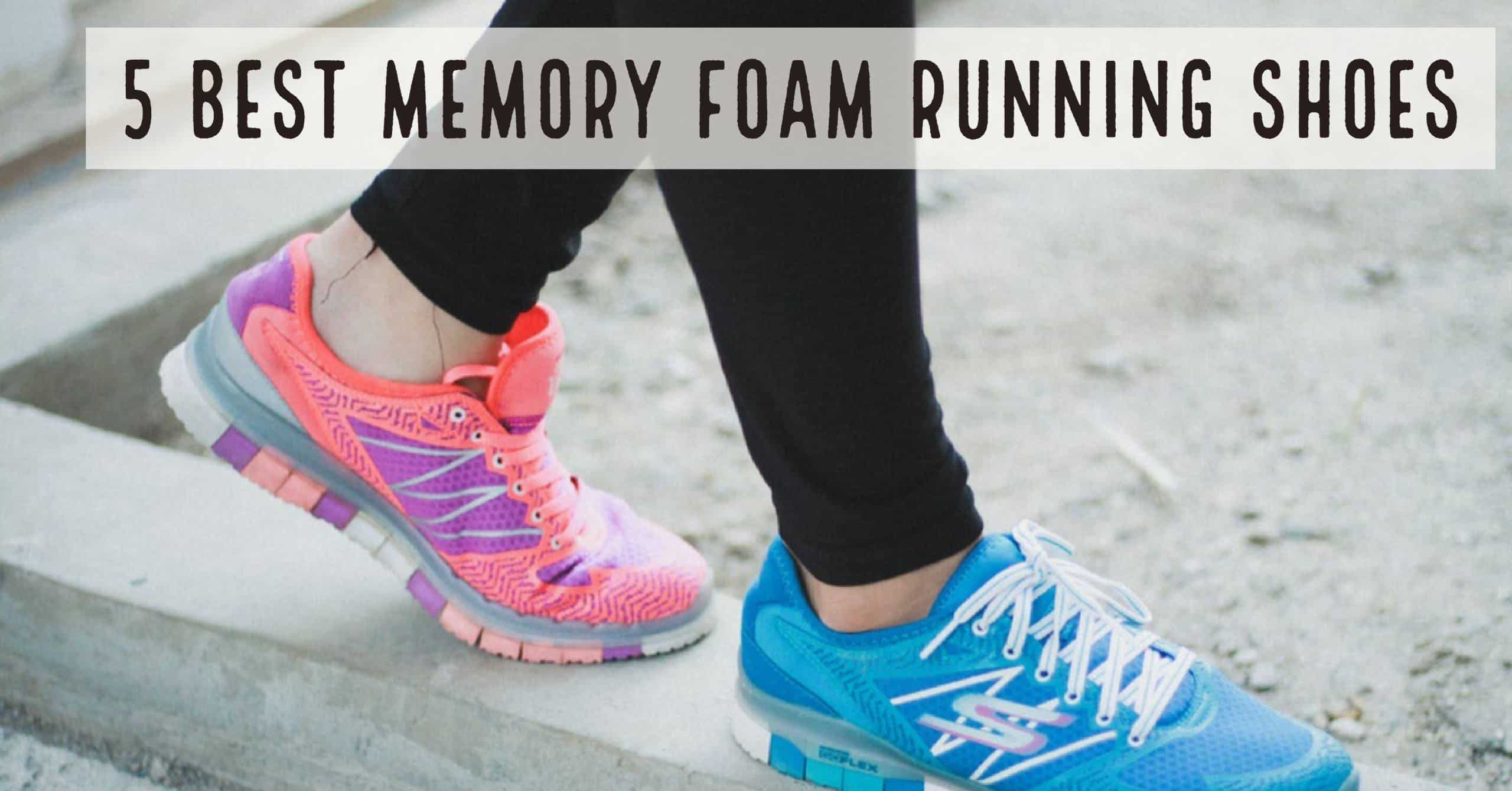 Memory foam running shoes are becoming more popular over time. Also, every major running shoe brand has its own memory foam technology and designs to make their shoes more competitive in the market. Here are the 5 best memory foam running shoes.