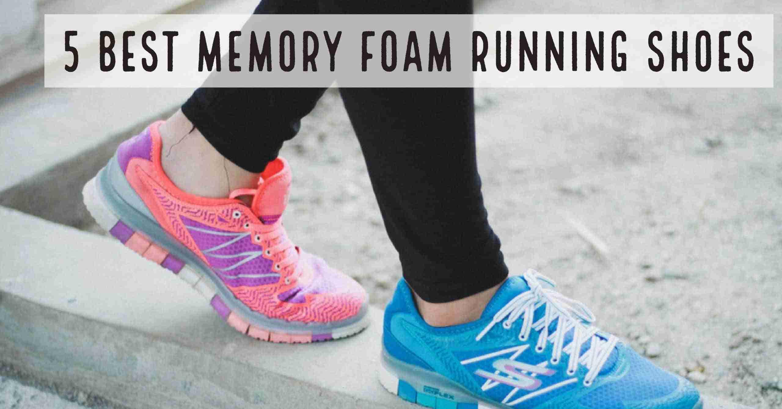 foam running shoes