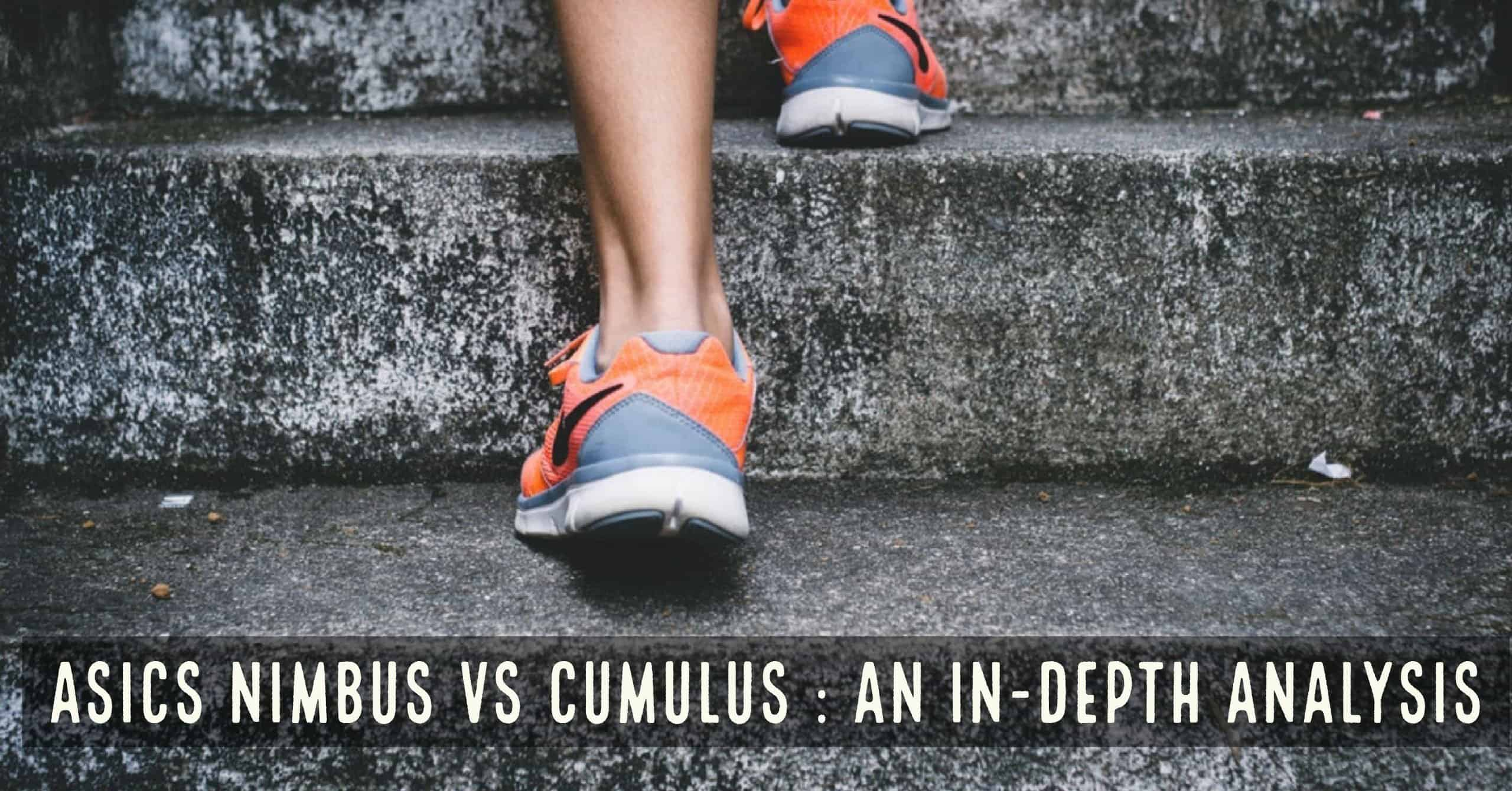 Persistencia diluido Abrazadera  Asics Nimbus vs Cumulus: Which is Right for You? - Train for a 5K.com