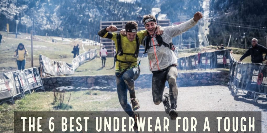 You're all prepped for your Tough Mudder or Spartan Race. You have your shoes, shorts, shirt, and watch. But do you have special underwear?. Here are the 6 Best Underwear for a Tough Mudder or Spartan Race