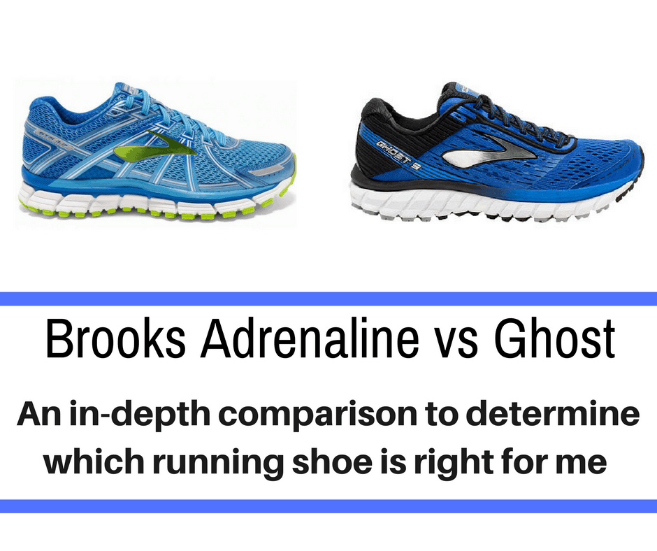 Brooks Adrenaline vs Ghost – A Detailed