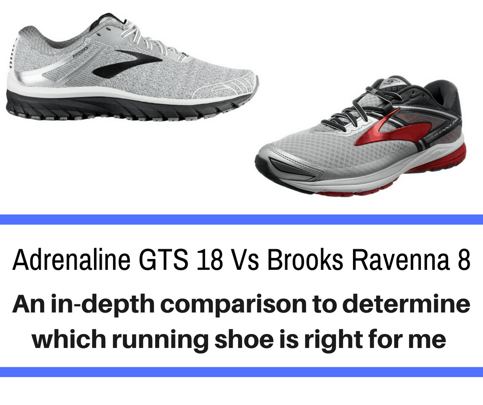 Brooks Adrenaline vs Ravenna