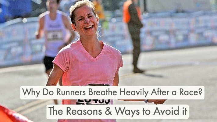 Why Do Runners Breathe Heavily After a Race? Runners will always breathe heavily after running a race, we break down the reasons and ways to prevent it.