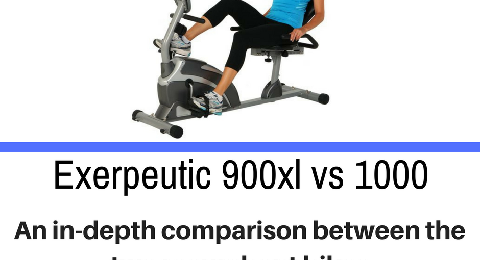 Recumbent bikes come in differnet shapes and sizes. Today we compare the Exerpeutic 900xl vs 1000 and detail the differences.