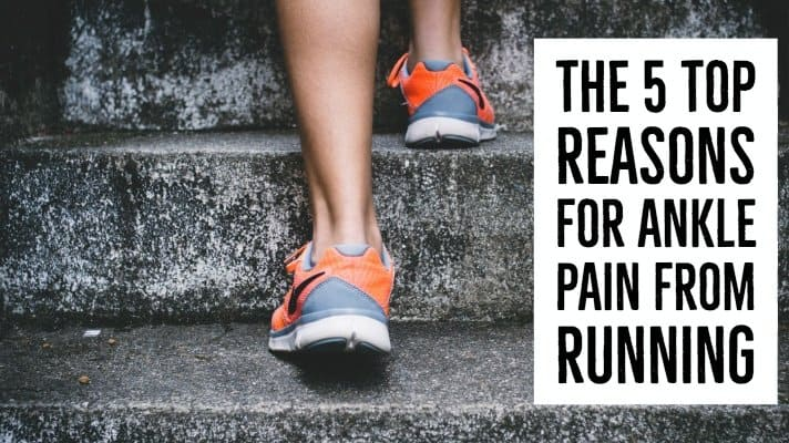 Ankle pain after running is a common minor injury that many runners endure. We break down the 5 top reasons for ankle pain from running & several ways to avoid it.