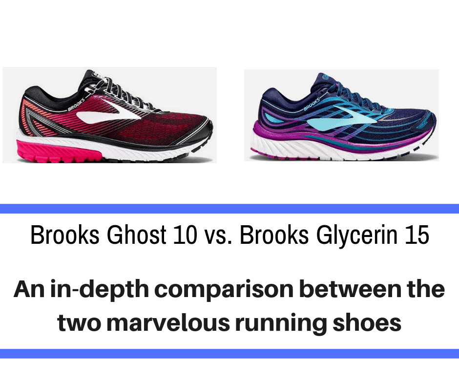 When it comes to plush, cushioned, and durable running shoes, Brooks wins. With a winning brand like Brooks, it can be hard to decide between their two most popular styles – the Ghost 10 vs. the Glycerin 15.
