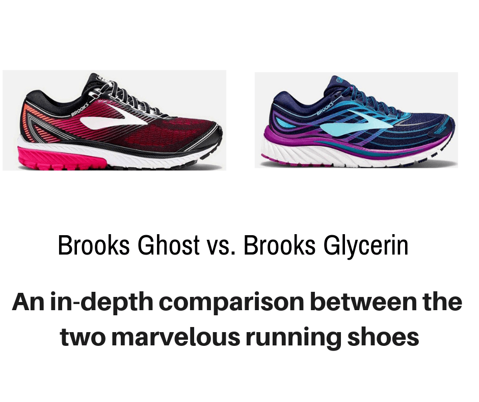 dd9ca8b6815 We detail the differences between two very popular Brooks running shoes  Brooks  Ghost vs.