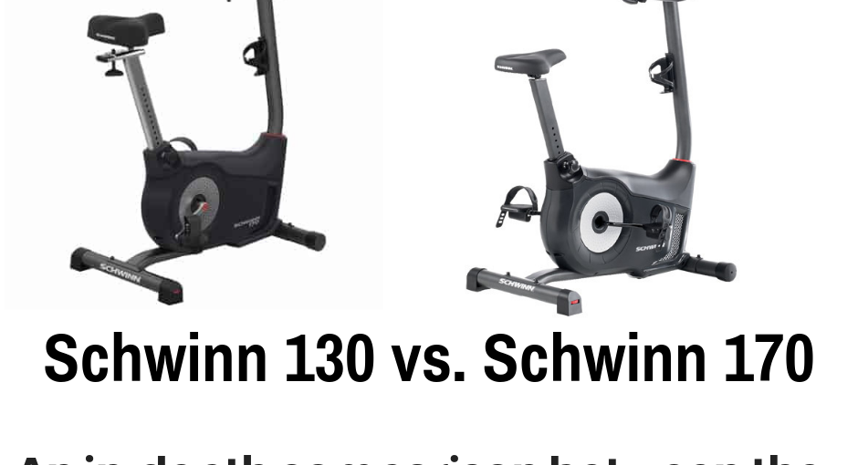 Schwinn makes a solid upright bike that many runners use. Today we detail the differences between the Schwinn 130 vs. Schwinn 170