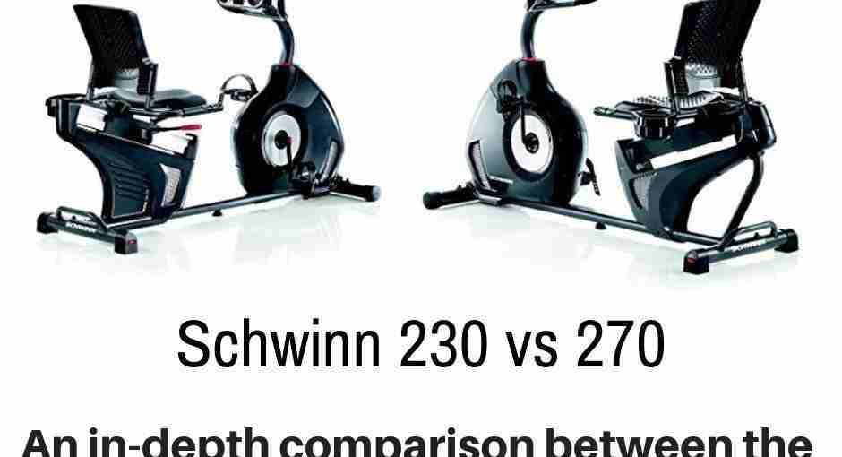 Schwinn 230 vs 270 - detailing the differences