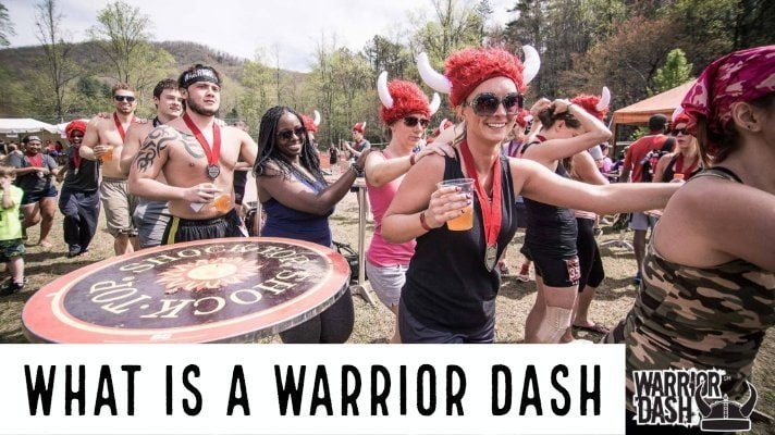 What is a Warrior Dash and how is it unique to other OCRs?
