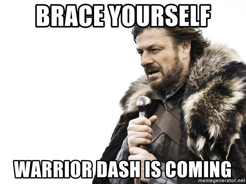 warrior dash memewarrior dash meme