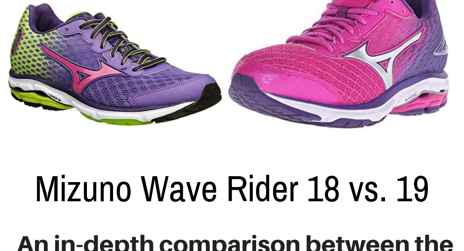 This article compares and contrasts two shoes from the same line but different model numbers: Mizuno Wave Rider 18 vs. 19.