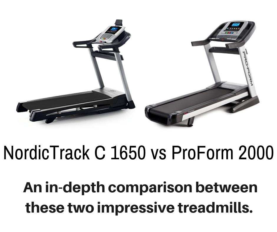 NordicTrack C 1650 vs ProForm 2000