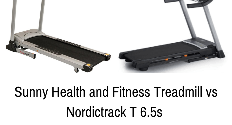 Sunny Health and Fitness Treadmill vs Nordictrack T 6.5s [Comparison]
