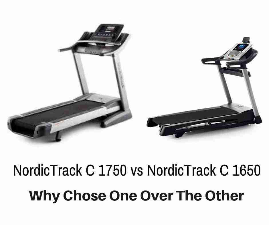 NordicTrack C 1650 vs NordicTrack C 1750