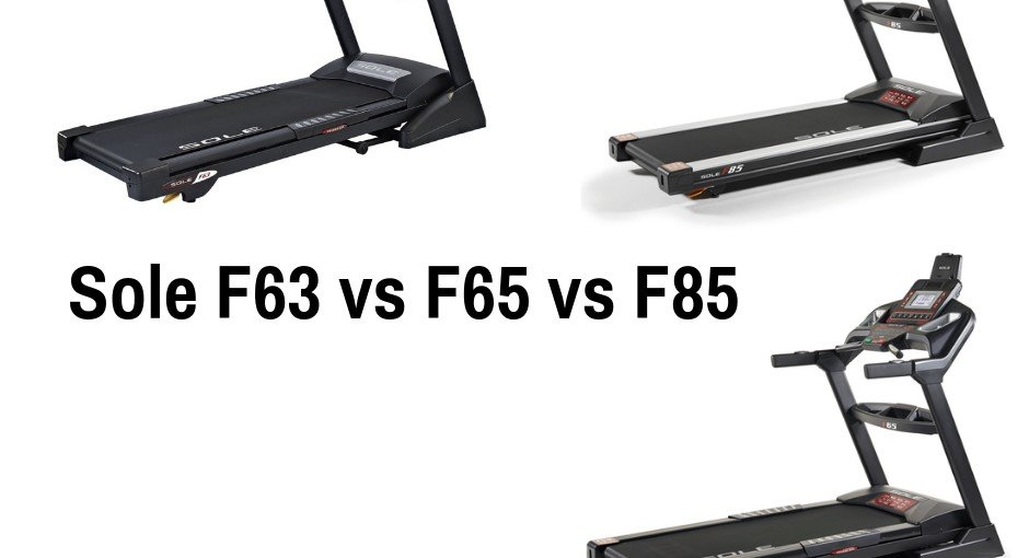 Sole develops quite a few treadmills, including the more recent F63, F65, and F85 in this article we breakdown the differences: Sole F63 vs F65 vs F85