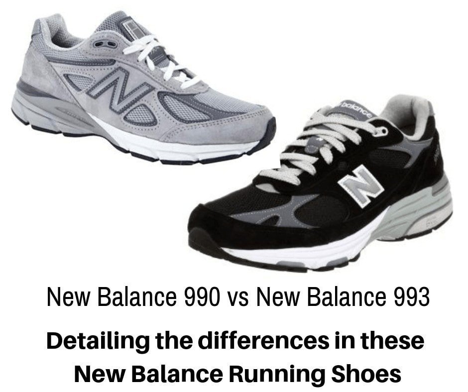 New Balance 990 vs New Balance 993 - What's the Difference
