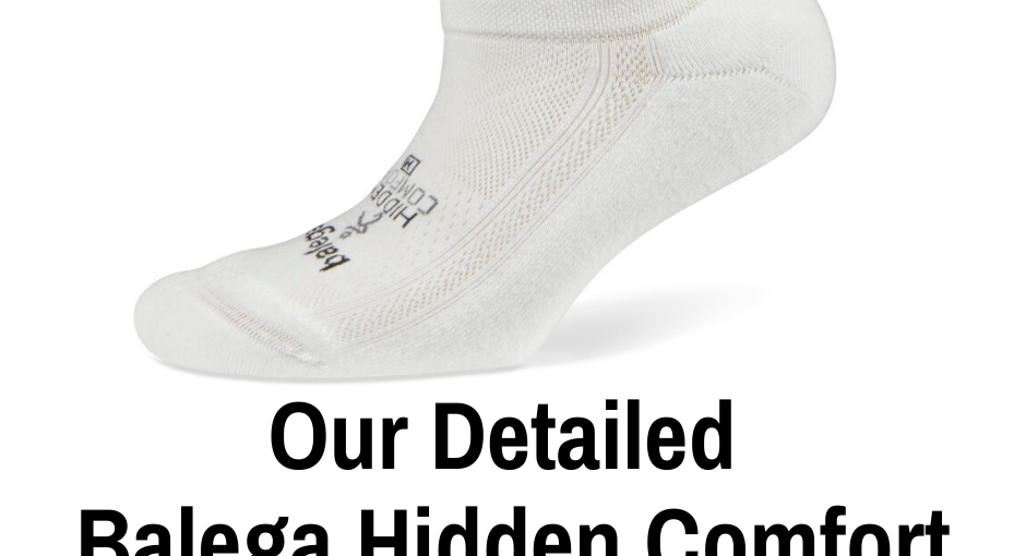 Balega is arguably the top blister preventing socks for runners on the market. Here is our review of their very popular Balega Hidden Comfort.