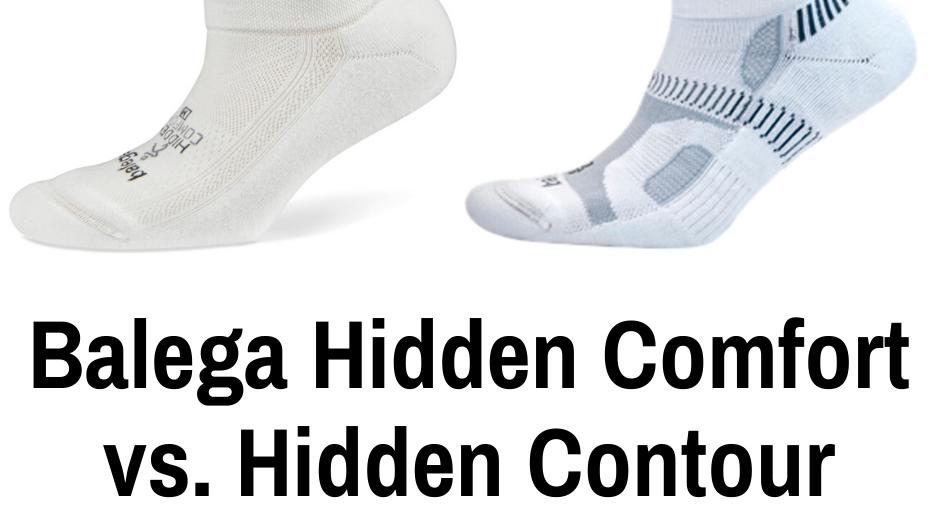 Balega is widely regarded as the top blister preventing socks for runners. We break down the Balega Hidden Comfort vs the Hidden Contour running socks.