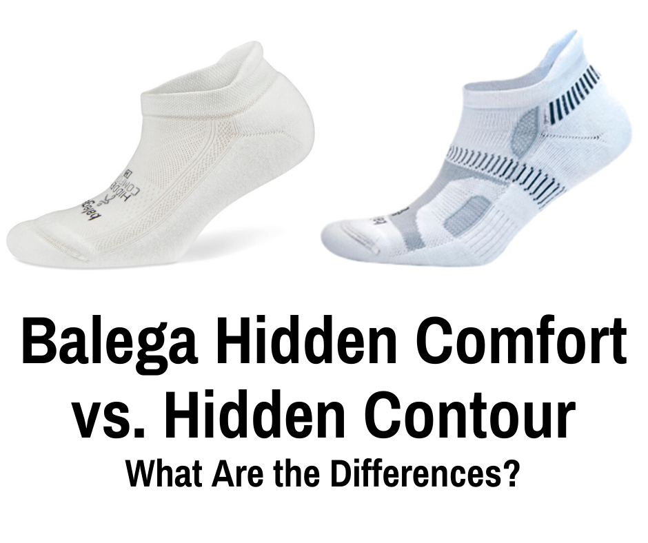 Balega is widely regarded as the top blister preventing socks for runners. We break down the Balega Hidden Comfort vs the Hidden Contour running socks.