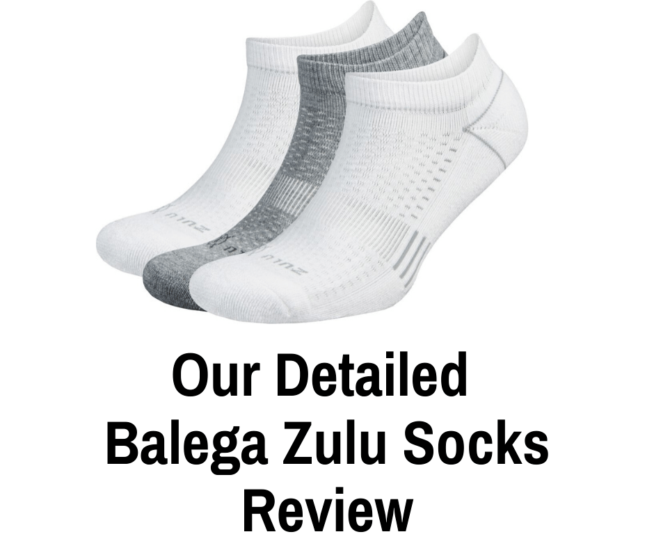 The Balega Zulu No Show Running Socks aren't just made for running, but also hiking, cycling, running and walking for fitness. Our comprehensive review.