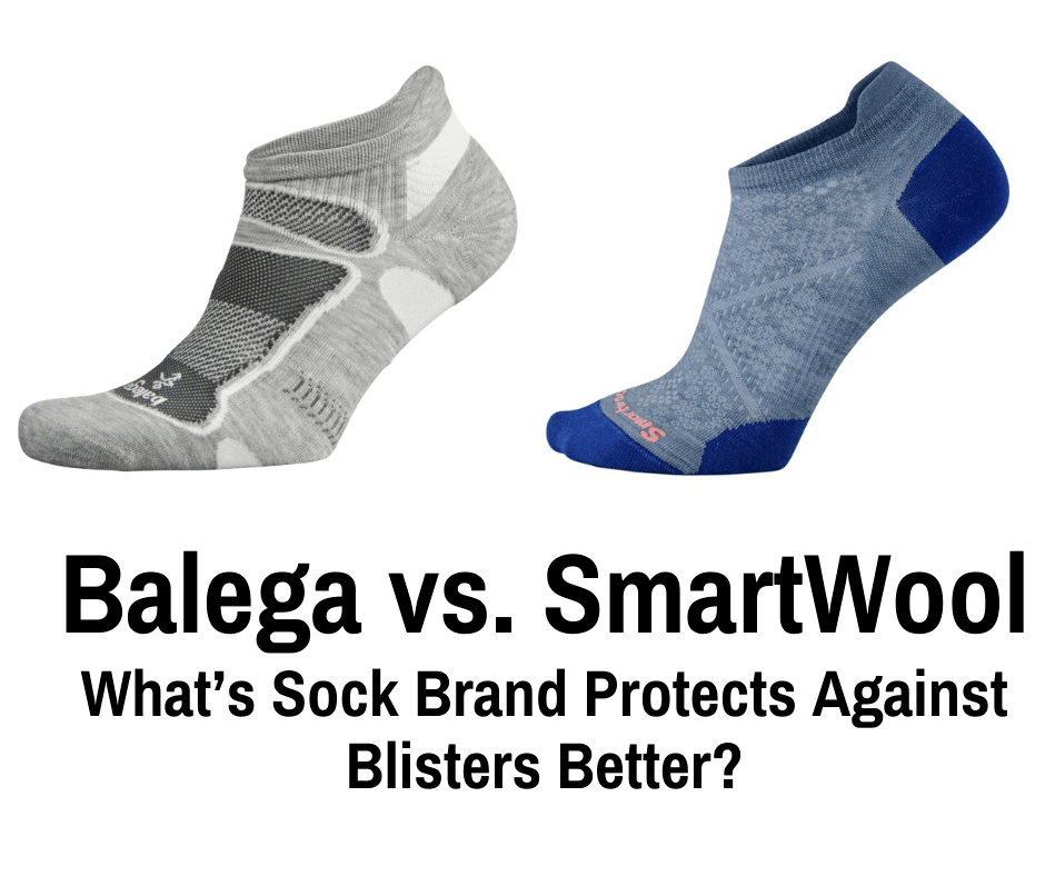 Balega vs. SmartWool What's Sock Brand Protects Against Blisters Better?