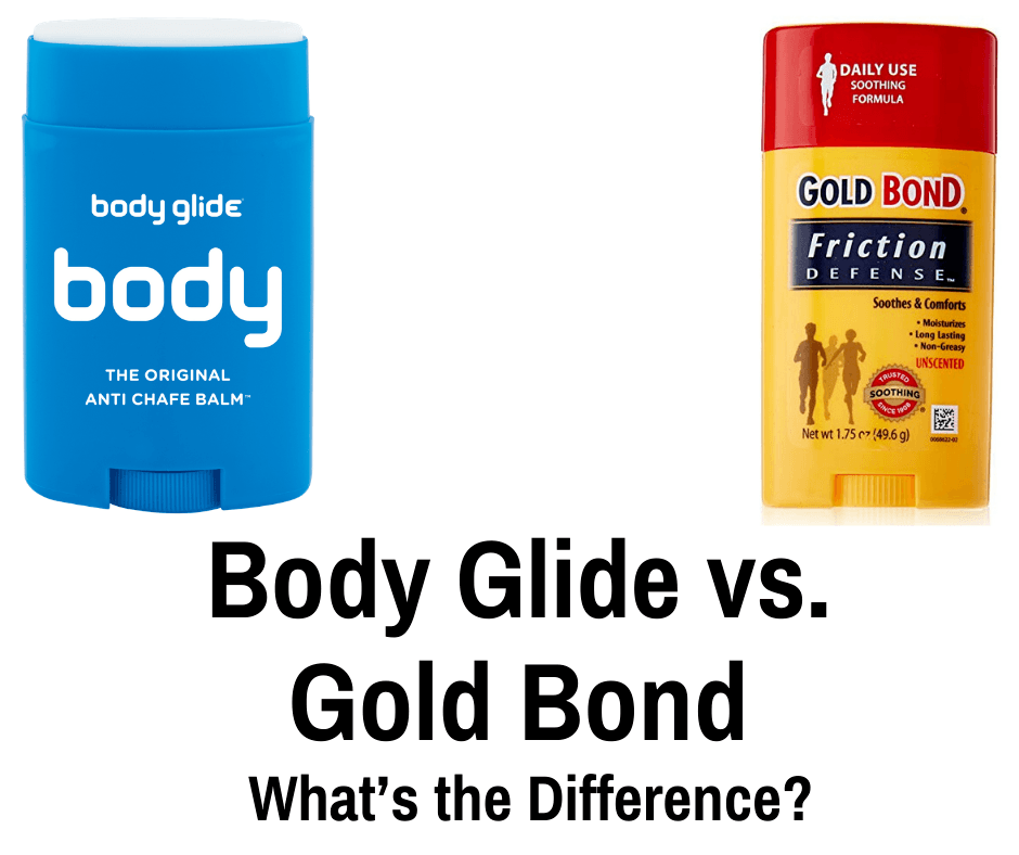 Body Glide vs. Gold Bond