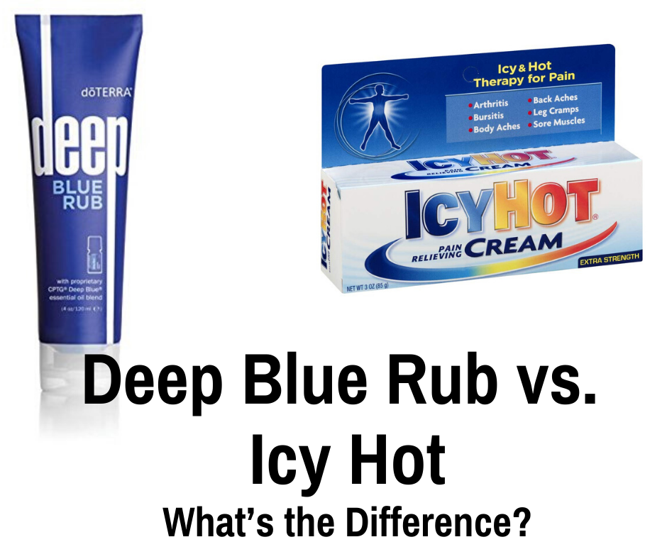 Deep Blue Rub vs. Icy Hot