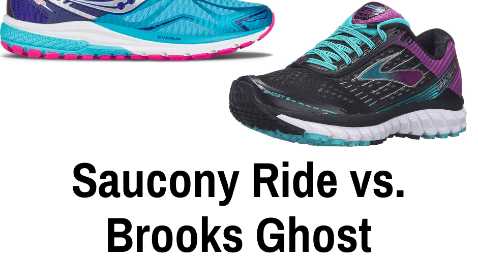 Today we are going to talk about the very popular Saucony Ride vs the Brooks Ghost. In many running circles these two pairs are common.
