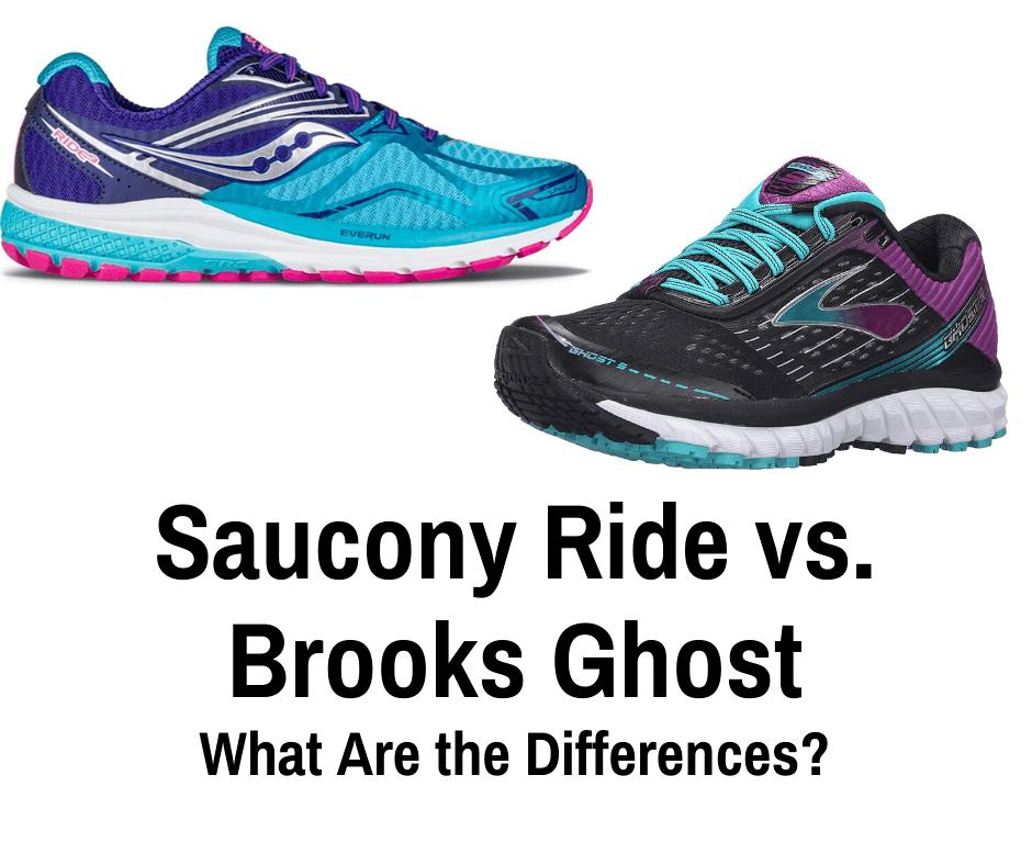 saucony ride 10 vs brooks ghost 10