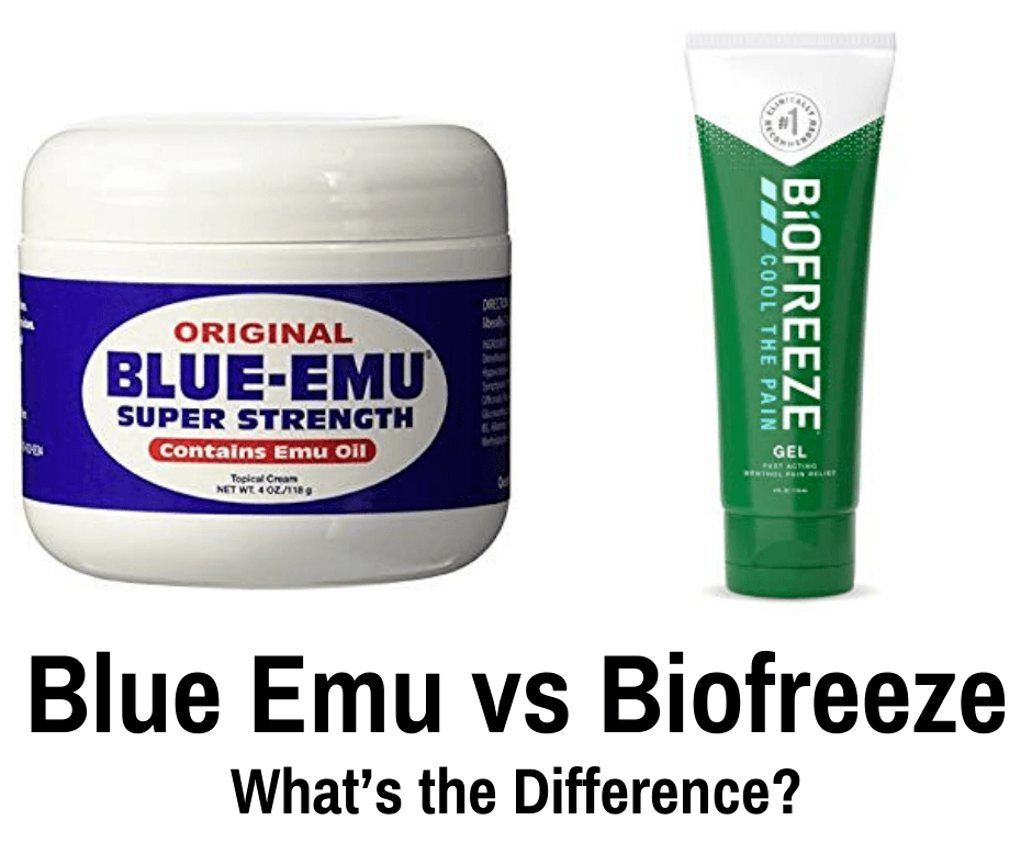 Blue Emu vs Biofreeze
