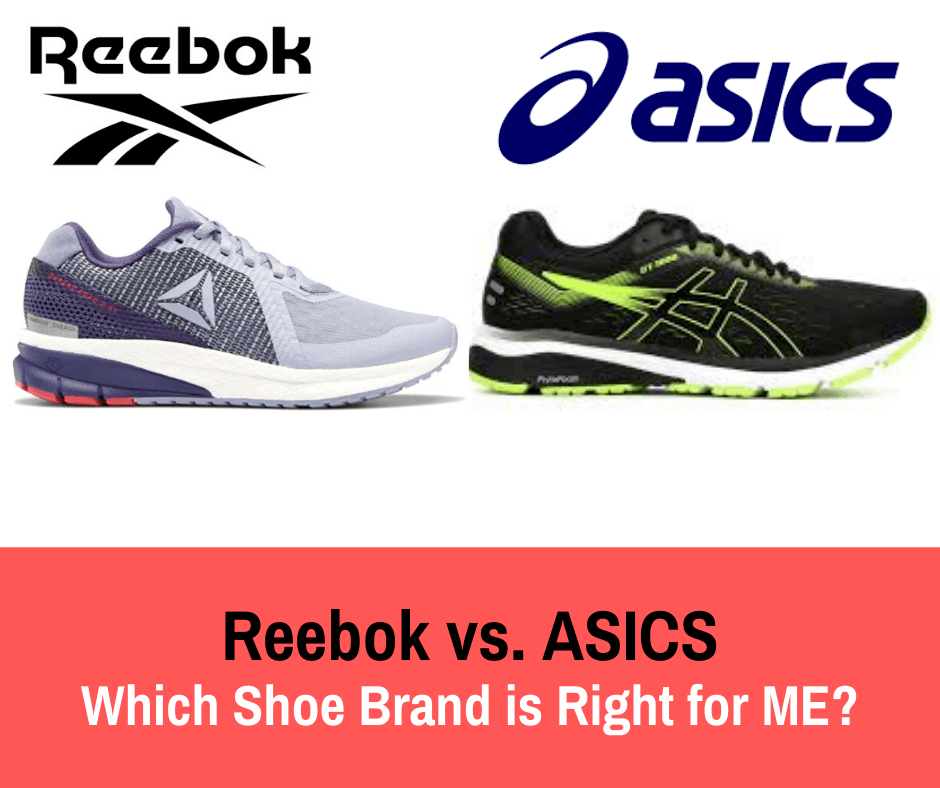 This article compares Reebok vs Asics to help you pick which shoe brand would be good for your running.