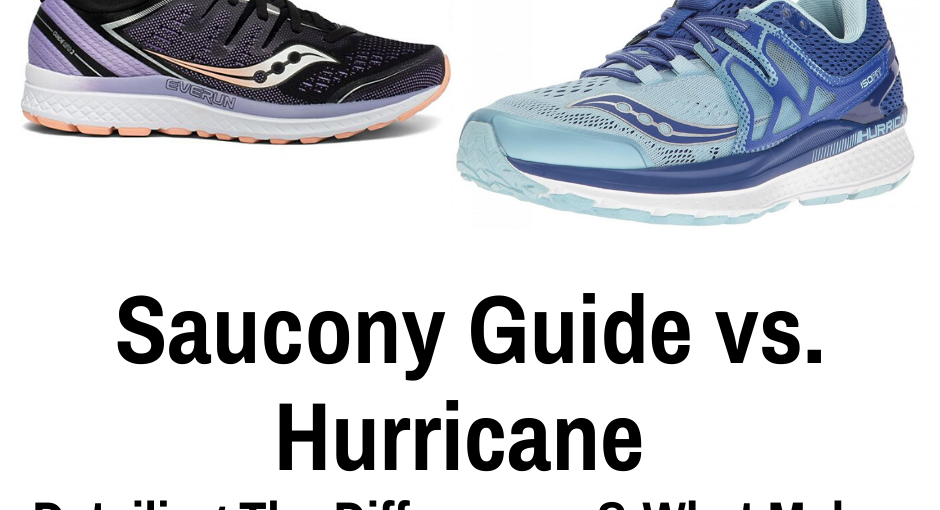 This article compares Saucony Hurricane vs the Saucony Guide using products from each line. Each product is first reviewed and then a comparison made to determine the differences.
