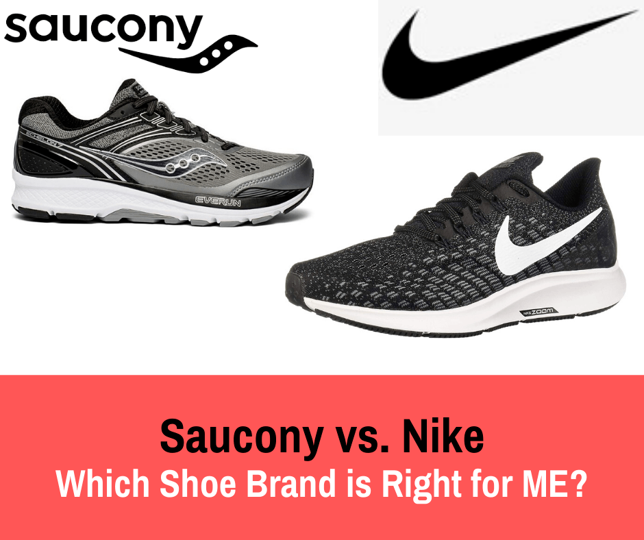 This article can help you start your search by pointing you in the right direction of what to expect from Saucony vs the famous shoe brand Nike!