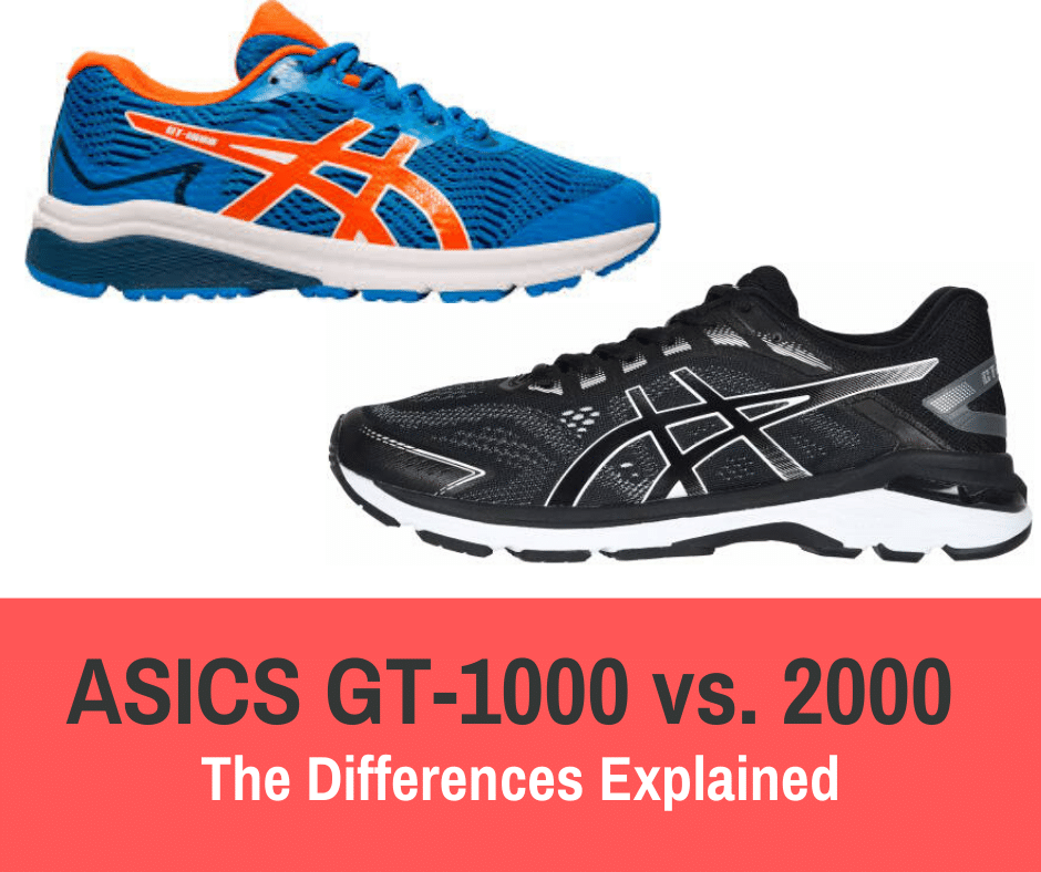 evitar Pavimentación Acelerar  ASICS GT-1000 vs. 2000 -Differences Explained - Train for a 5K.com