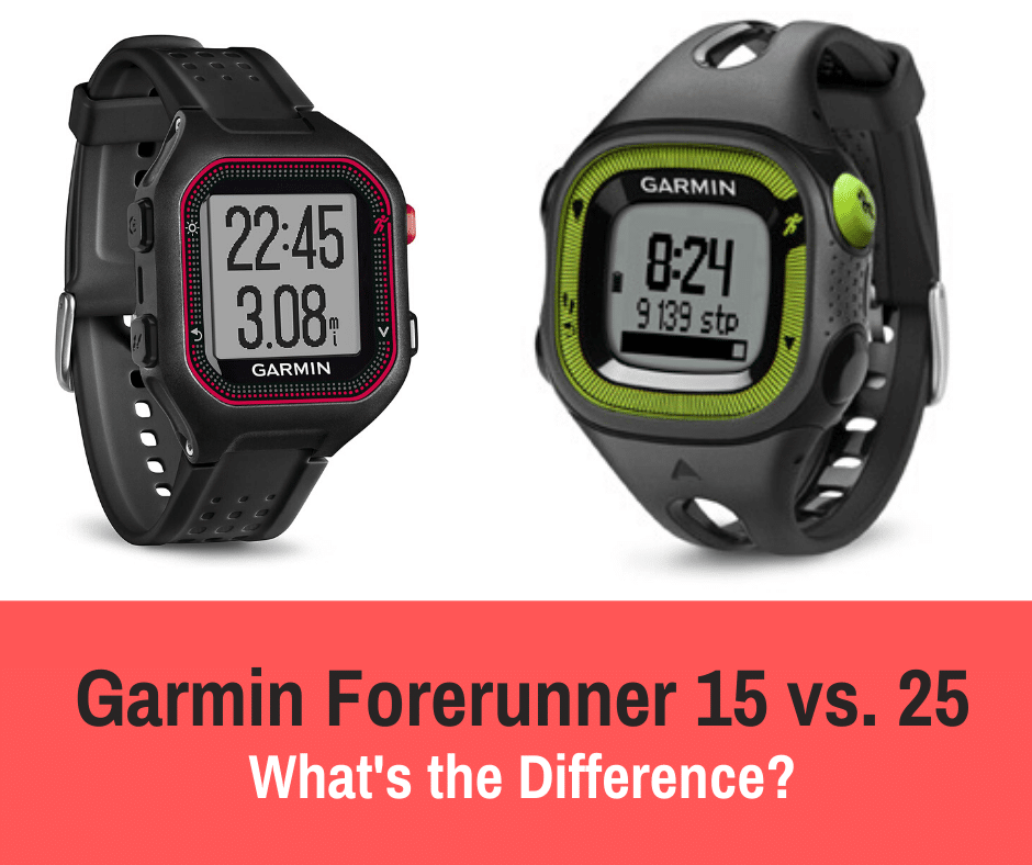 Garmin Forerunner 15 vs. 25: Garmin watches are one of the most well known brands of watches out there on the market, and they are so well known for a reason.