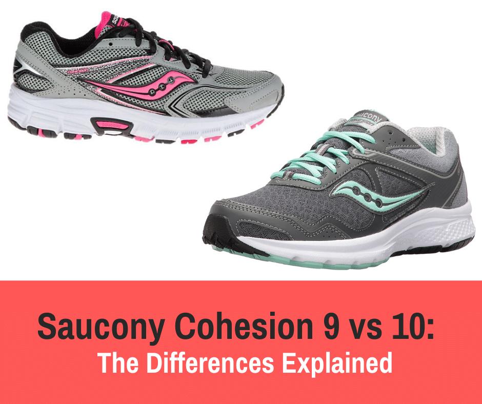 saucony cohesion 10
