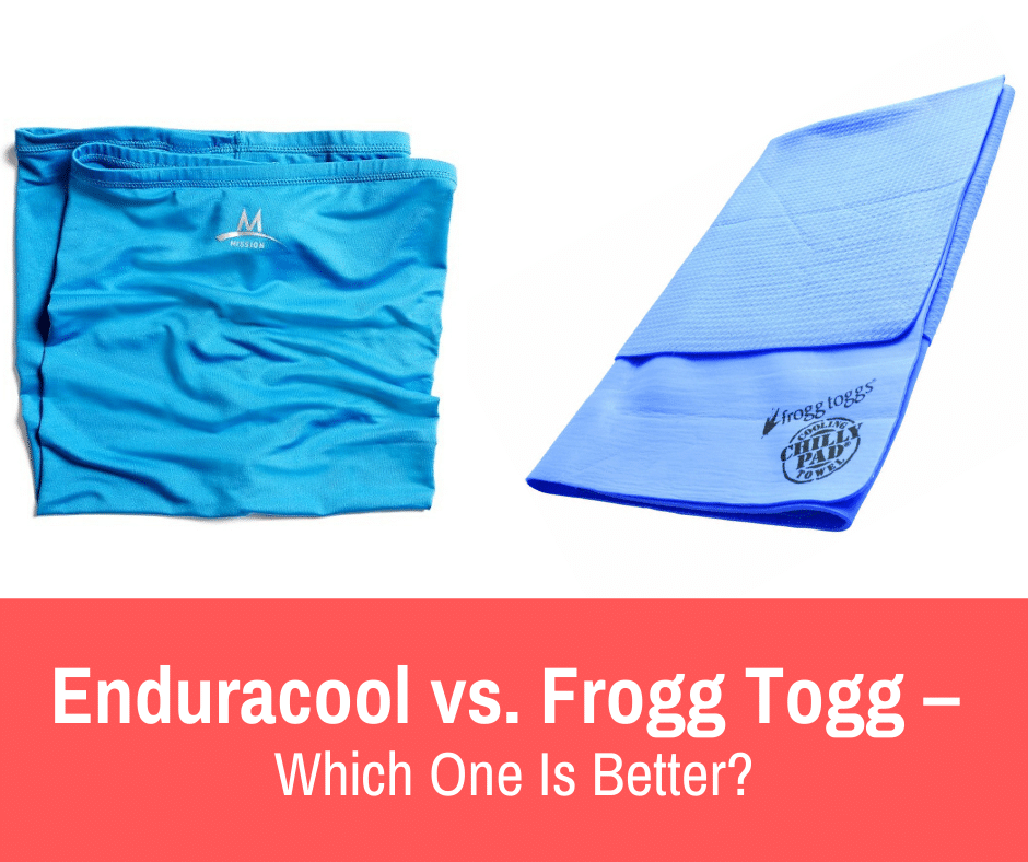 Whether you're a runner or any athlete, sweat and heat can overwhelm you after a tough workout. At that moment, nothing can be better than the fresh feeling of a cooling towel on your neck. But which brand to pick? In this article, we'll answer your question by comparing Enduracool vs. Frogg Togg.