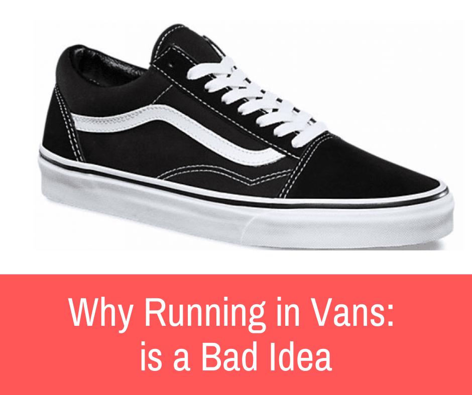 running with vans