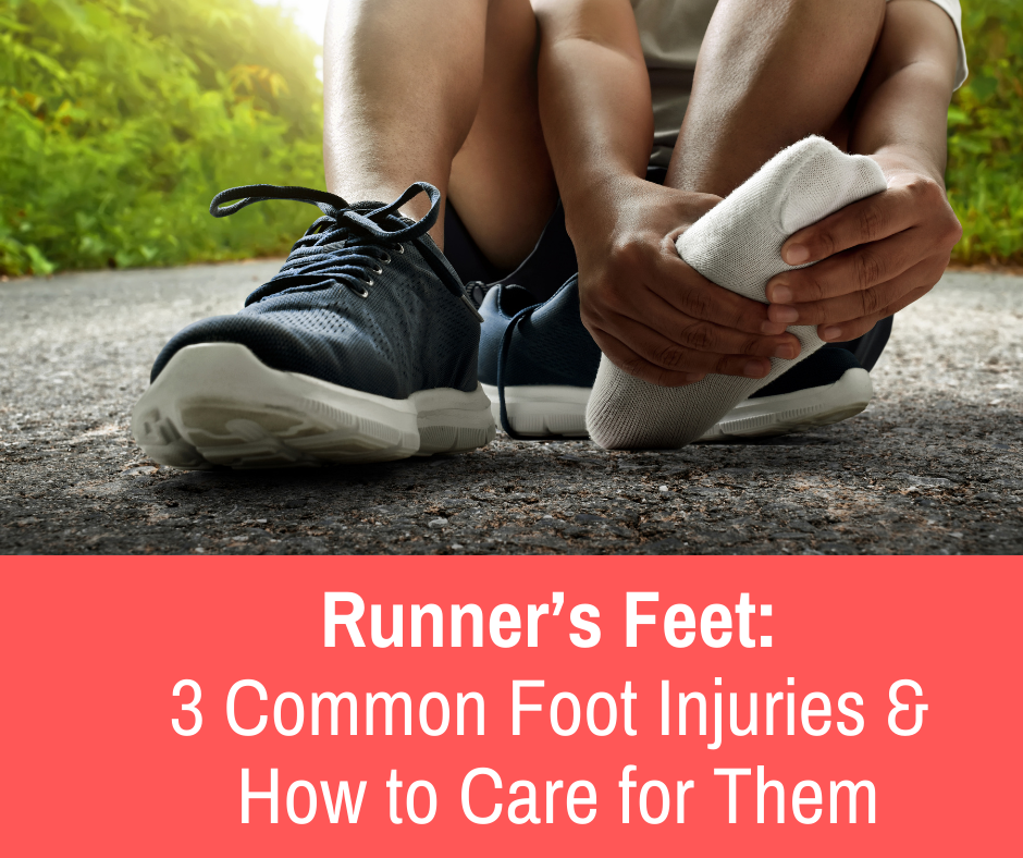 Feet are the first line of defense between your body and the ground at pretty much all times. When you run, the force you put into the ground can be multiplied by up to 8-10x your body weight.