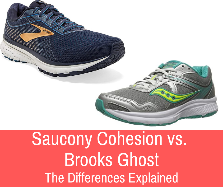 In this article, we'll be comparing Brooks' & Saucony's shoes, most well-established running shoes - Saucony Cohesion vs. Brooks Ghost.