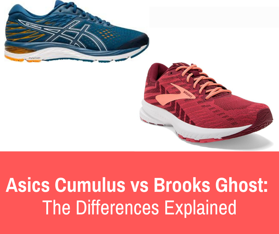 So, you're here to see if you'd prefer the Asics Gel Cumulus of the Brooks Ghost? Well we have gathered the information needed to compare these shoes and decide which may better suit your needs as a runner.