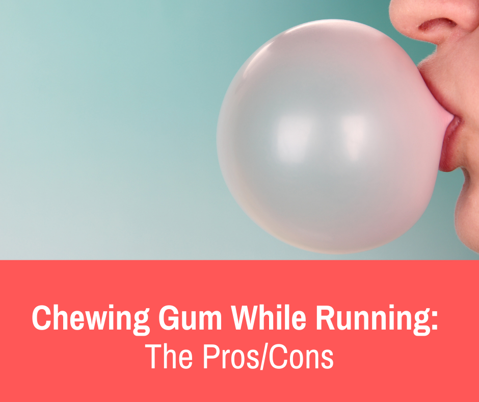 Some who are new to running and athletics may be curious about the prospect of chewing gum while running. There may be some positive thoughts about it, but also some apprehension regarding possible dangers or negative impacts of the training session.