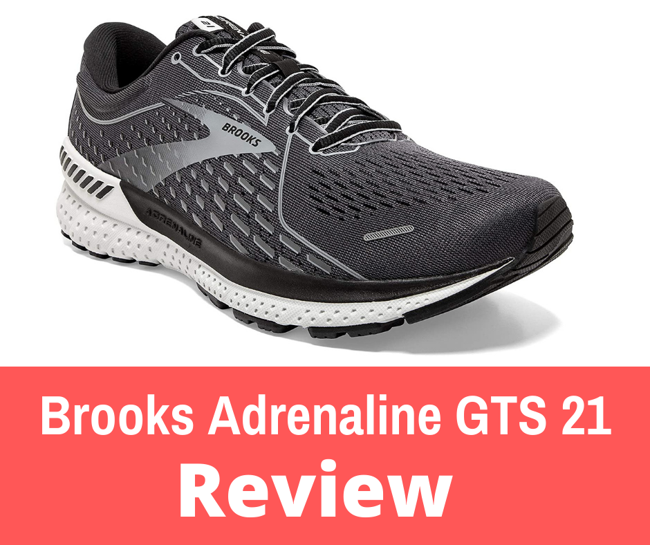 """Review: The Brooks Adrenaline GTS 21 is a stability shoe built to offer a mix of support, cushioning, and comfort. The Brooks Adrenaline GTS has embodied the very meaning of a """"Go-To-Shoe"""" for years and years. Runners of all abilities flock to this shoe model for its reliability in all sorts of running conditions. As a daily-trainer, the Adrenaline GTS provides a solid DNA Loft midsole foam, especially in the heel area, to protect your feet and legs from pounding the pavement."""